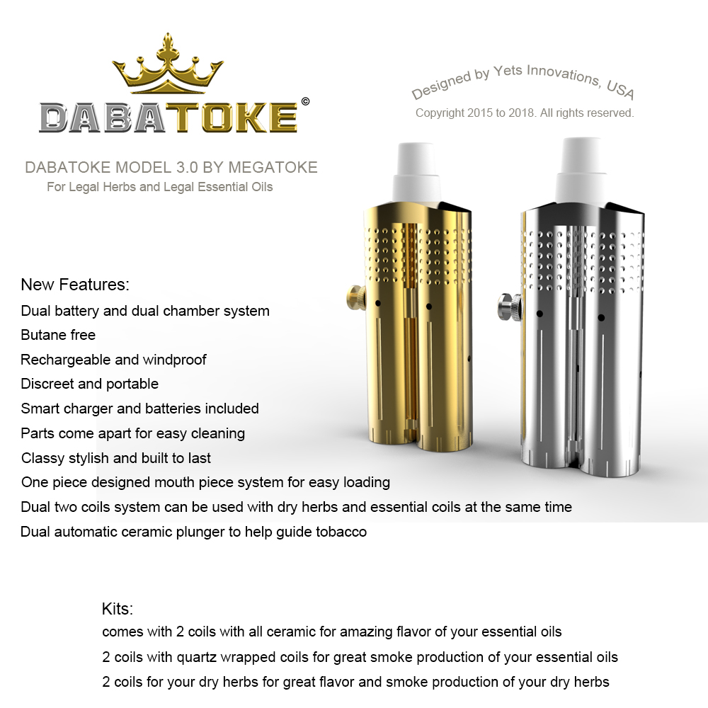 ALMOST SOLD OUT New Product DABATOKE Model 3 0 - Best Vaporizers